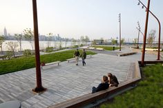 The Edge Park Brooklyn  www.worldlandscapearchitect.com