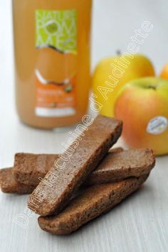 Fingers healthy aux pommes Tentation sans beurre, sans sucre et sans gluten (en vidéo)