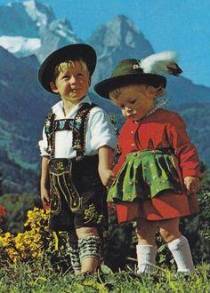 Bavarian children @K. T Y R R E L L