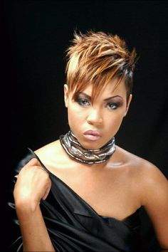 Fashionterest has collected the best short hairstyles for black women. If you are the one who is fed-up from finding ways to style your short hair then try it. Short Sassy Hair, Short Hair Styles Easy, Short Hair Cuts, Medium Hair Styles, Natural Hair Styles, Curly Short, Pixie Cuts, Easy Hairstyles For Medium Hair, Short Black Hairstyles