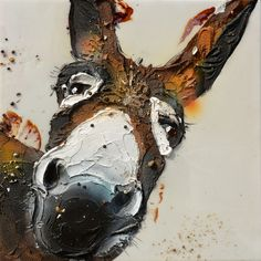 Super Cool Donkey Painting By Nicoletta Belletti | Cool Feed.me