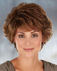 Tyler by Henry Margu Wigs - monofilament, short, straight hair Short Grey Hair, Short Hair With Layers, Short Hair Cuts, Wigs For Cancer Patients, Wig Hairstyles, Straight Hairstyles, Henry Margu Wigs, Medium Hair Styles, Short Hair
