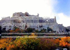 France, les Baux de Provence: couleurs d automne