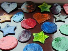 modeling clay ornaments