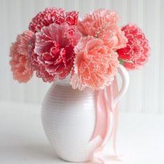 Kapkek Kağıtlarından Çiçek Yapılışı 4