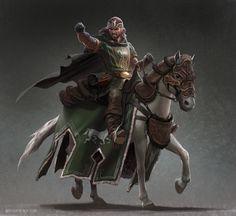 Rohirrim rider