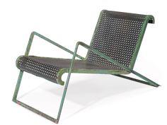 Jean Royere   Steel Chair