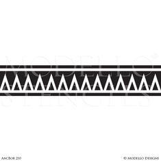 Line Tattoo Arm, Band Tattoo, Ceiling Design, Wall Design, Paint Ceiling, New Tattoo Designs, Dragon Illustration, Tribal Nursery, Wall Borders