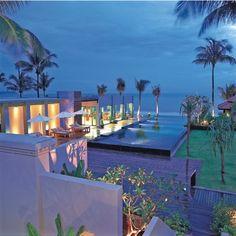Aussergewöhnliche Hotels, Chongfah Resort, Kaoh Lak, Abendstimmung