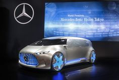Mercedes-Benz Vision Tokyo minivan concept unveiled