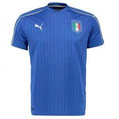Fotbalové Dres Itálie 2016 Domácí Krátký Rukáv levně