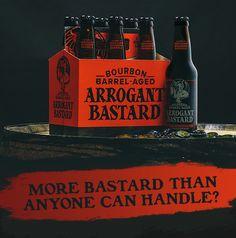 Stone Bourbon Barrel Arrogant Bastard