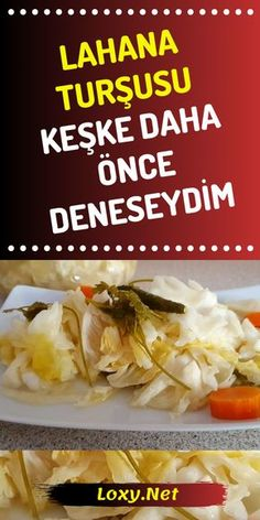 Today, before I try a pickle recipe from the master channel Al Directions wanted to convey to you. Why do I share; cabbage recipes because I like the most in this pickle recipe and wanted to try it on you. Lahanaturşu of pickles # # # turşutarif of Vegetarian Recipes, Cooking Recipes, Healthy Recipes, Turkish Kitchen, Iftar, Turkish Recipes, Pickles, Pasta, Good Food