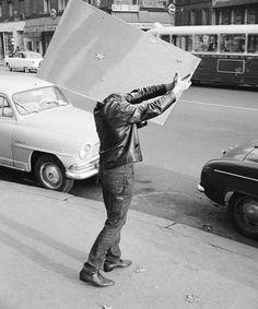 30+ Humorous Street Photos From 1950s France By René Maltête