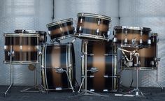 double down LPL duco  for @graham_hopkins     #candcdrums