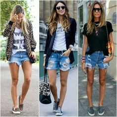half off 3525a e9a49 I want these loose shorts Jean Short Outfits, Basic Outfits, Short Jeans,  Casual