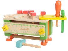 Werkzeugkasten und Werkbank