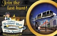 Kid Social - Sydney Treasure Hunt on The Monorail      Ahoy! Gather all your scallywags and take off on a jolly family adventure for $24!    Aye me hearties, jump onboard the Sydney Treasure Hunt on the Monorail to discover Sydney's hidden treasures. For just the price of a Monorail Family Day Pass your motley crew will be equipped with a treasure map to take you around the Monorail loop with a few dry land excursions in Chinatown, the city and Darling Harbour.