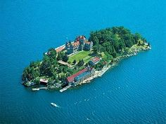 Photo of Singer Castle aerial view for fans of Castles. How cool would it be to…