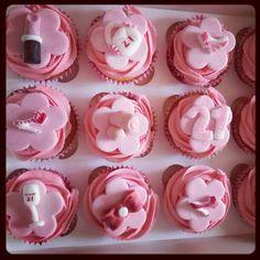 21st cupcakes
