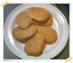 La ricetta dei biscotti con crusca d'avena e crusca di frumento (crusca di grano), dolci ideali per la dieta Dukan (a partire dalla fase di crociera).