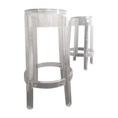 a set of lovely vintage midcentury lucite swivel bar stools bar stools pinterest mid century products and bar stools