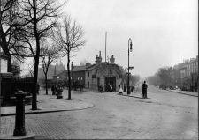 The Swiss Cottage in Finchley Road on February Picture: English Heritage archives Swiss Cottage, City Icon, English Heritage, Vintage London, Past, February, Street View, Pictures, Outdoor