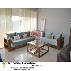 Corner Sofa Design, Living Room Sofa Design, Living Room Modern, Living Room Designs, Living Furniture, Home Decor Furniture, Sofa Furniture, Furniture Design, Wooden Sofa Designs