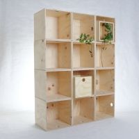 Ply crates, squares and rectangles