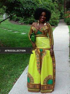 African /ethnic/dashiki long sleeves off by AFROCOLLECTION2015