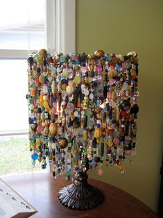 Graduation Party Decor Discover Custom Made Curiosity Lamp Diy Arts And Crafts, Diy Crafts, Beaded Crafts, Lego Lamp, Handmade Lamps, Brass Lamp, Upcycled Crafts, Lamp Shades, Light Shades