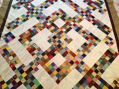 Charlotte's Quilts - super scrappy = LOVE!