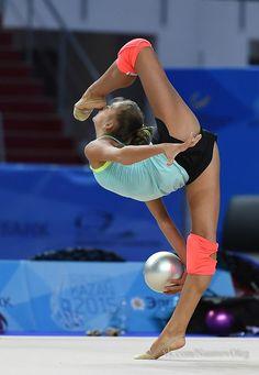 Aleksandra Soldatova (Russia), backstage World Cup (Kazan, Russia) 2015
