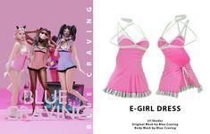 The Sims, Sims 4 Cas, Sims Cc, Sims 4 Dresses, Girls Dresses, Sims 4 Clothing, Female Clothing, Sims 4 Cc Finds, Sims Mods