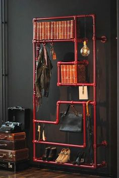 Industrial Bookcase and Bookshelf Design