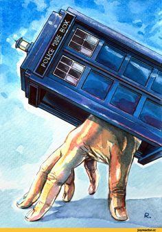 Doctor Who,фэндомы,ТАРДИС,tardis,,DW Art