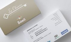La Chiave on Behance by Endea #inspiration #brandidentity #bigliettodavisita