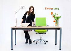 Mobilier birou Greenforest MOVI Flower time Blog, Desk, Furniture, Home Decor, Desktop, Decoration Home, Room Decor, Table Desk, Blogging