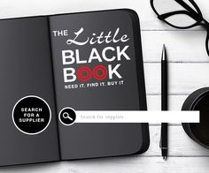 One of our great tools in #cookingthebooks #little #black #book #suppliers #easy #management #software