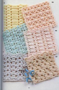 262 Patrones de crochet  Diagrams Not written.