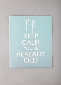 keep calm birthday card