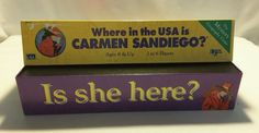 Where in the USA is CARMEN SANDIEGO? 1993 UNIVERSITY GAMES