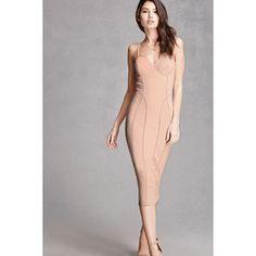 Forever21 Padded Slip Dress