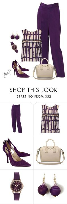 """""""Workwear"""" by pkoff on Polyvore featuring Vivienne Westwood, Marni, Joan & David, Givenchy and Henry London"""