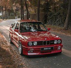 BMW E30 M3 red #bmwclassiccars