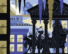 Adam McCauley Illustration | Roman Colliseum