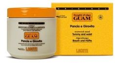 GUAM Fat Burning Mud Treatment by GUAM Beauty Mud. $69.00. Ideal for the tummy and waist area. Real results. Effective. Seaweed based fat reducing treatment. Mud body wrap treatment. This mud is specifically designed to reduce fat in the abdomen while tightening the skin for the appearance of an instant tummy tuck. It has a special ingredient that is added to the seaweed mud that help melt subcutaneous fat in the abdominal area. Available in 500 g (17.64 oz.) size.