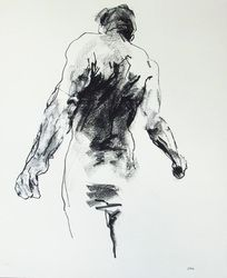 Powerful and gestural figure drawings by contemporary artist Derek Overfield. Gesture Drawing, Guy Drawing, Life Drawing, Male Figure Drawing, Figure Drawings, Small Words, Portraits, Figurative Art, Comic Art