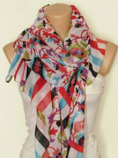 Excited to share the latest addition to my #etsy shop: Oversize Pasley Pattern Red White Turquoise Color Scarf-Fall Fashion-Headband-Beach Pareo-Infinity Scarf-Beach Sarong-Long Scarf-New Season http://etsy.me/2i5vmZ3 #accessories #scarf #accessory #shawlscarf #fallfashion #longs
