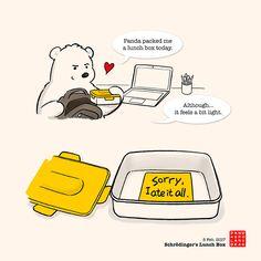 Top tip: Feed your Panda, do not let Panda feed you. Baby Panda Bears, Polar Bear, Cute Panda Cartoon, Panda Funny, Cute Bear Drawings, Chibi Cat, Panda Wallpapers, Bear Wallpaper, Panda Love